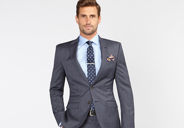 Peter jackson madsen wool suit