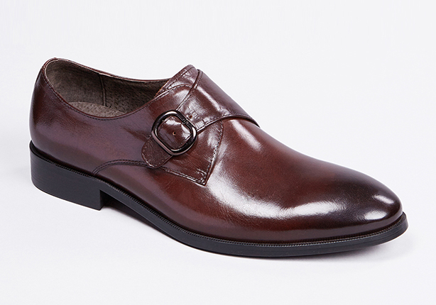 Peter jackson leather monk strap shoe