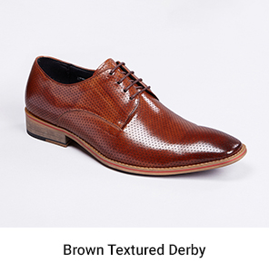 brown derby shoes| peter jackson menswear