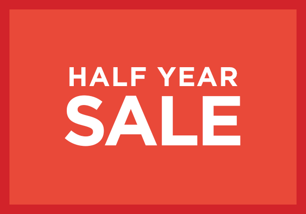 The Half Year Sale Returns