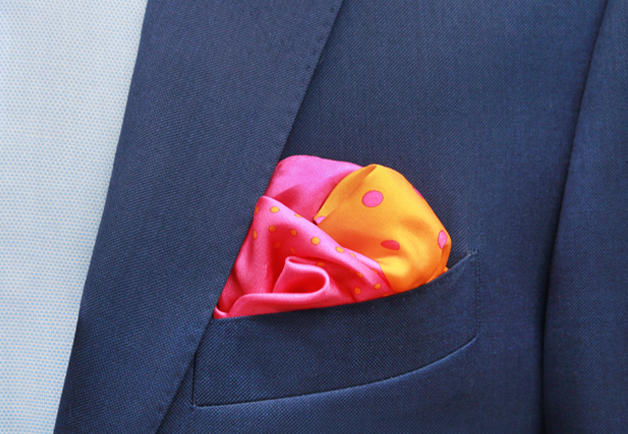 Puff Fold | Pocket Square | Pitti Uomo