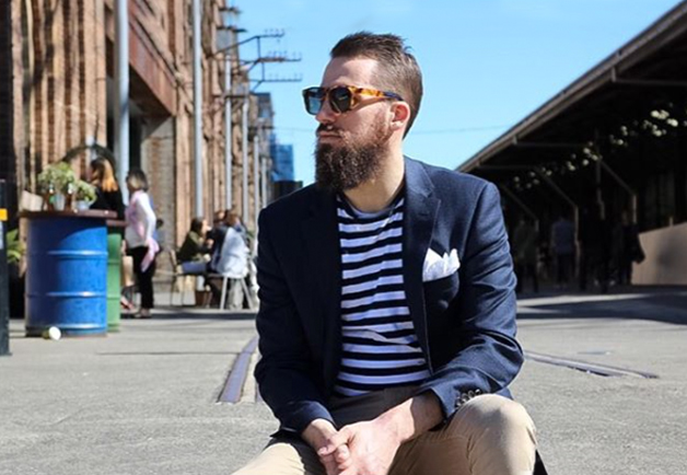 The Bearded Villain | Interview| Peter Jackson Blog | summer suit | casual style