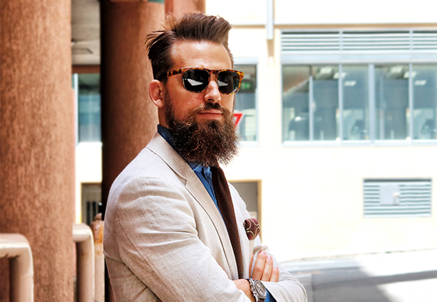 The Tailored Take Down - Meet Sydney Stylist, The Bearded Villain