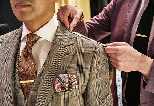 Suit Fit Guide - Our Suit Styles Explained