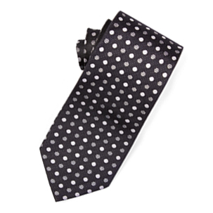 Metallic Polka Dot Tie | Derby Day Tie | Derby Day Dress Code| Men's Race Wear | Peter Jackson Menswear