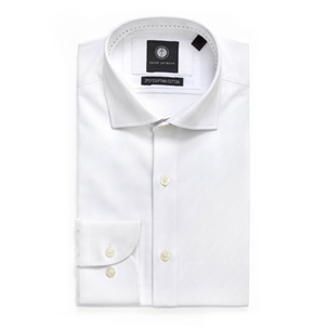 White Dress Shirt | Derby Day Shirts | Derby Day Dress Code| Men's Race Wear | Peter Jackson Menswear
