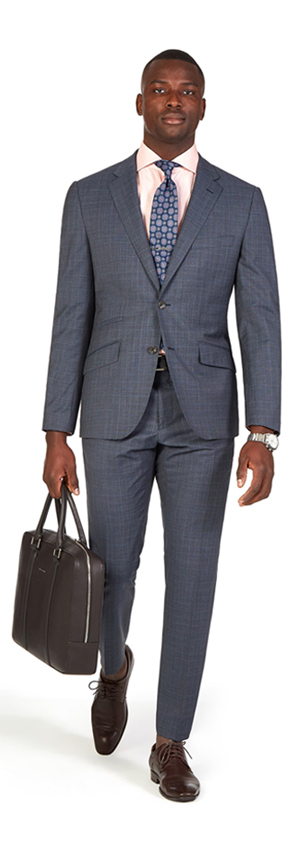 Charcoal Glen Check Suit | Derby Day Dress Code| Men's Race Wear | Peter Jackson Menswear