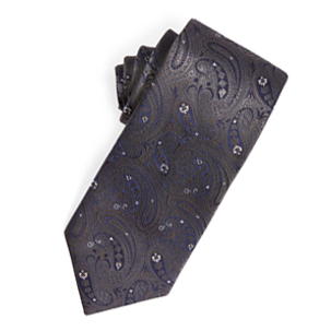 Midnight Paisley Tie | Derby Day Tie | Derby Day Dress Code| Men's Race Wear | Peter Jackson Menswear