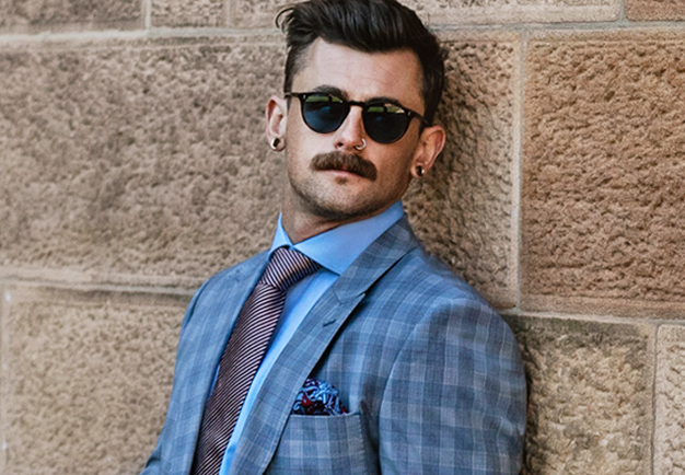 Grey Plaid Suit | Derby Day Dress Code| Men's Race Wear | Peter Jackson Menswear