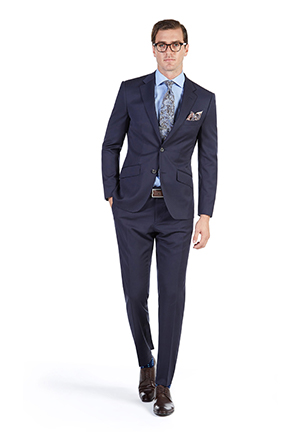 Oaks Day Style Guide | Race Day Look Oaks Day | Navy Twill Suit