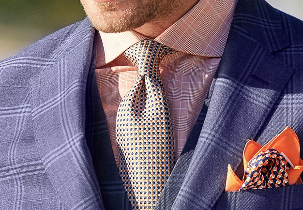 Spring Sale Ties | Men's Italian Silk| Men's Race Wear | Peter Jackson Menswear