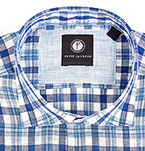 Mens Gift Guide | Mens Check Shirt | Mens Linen Shirts