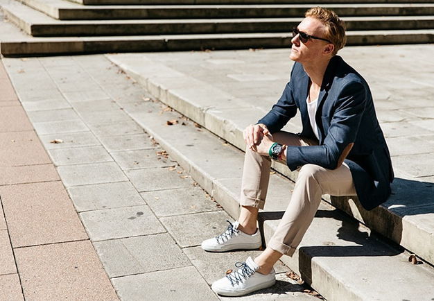 Sneakers and Suits | Work Party Dress Code | Peter Jackson Blog