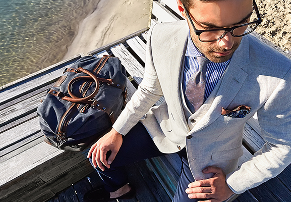Men's Casual Tailoring | How to travel with tailoring guide