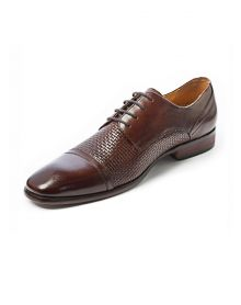 Brown Cap Plate Shoe