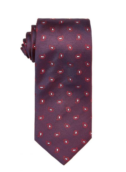 Ruby Small Paisley Tie