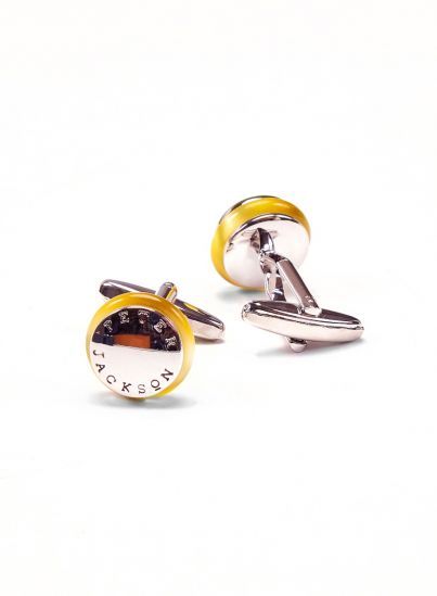 Yellow Signature Cufflink